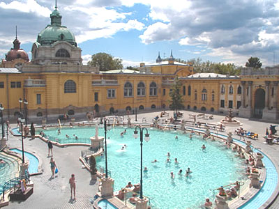 Szechenyi Thermal bath :: Arcadia Apartment